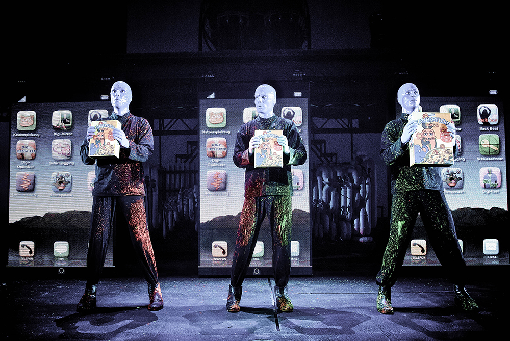blue man group musical berlin
