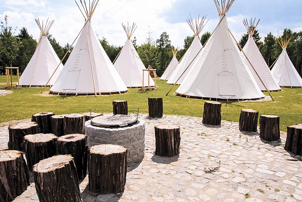 Tropical Islands Tipi Zelte