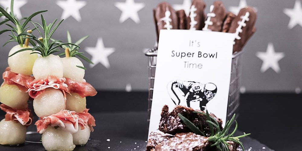 It's SUPER BOWL: Leckereien für den perfekten Super- Bowl Abend