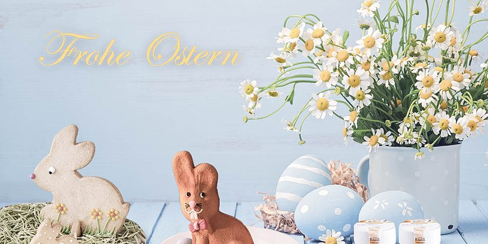 """Happy Easter to everybunny"": Oster-Sweettable + Oster-Give-Away"